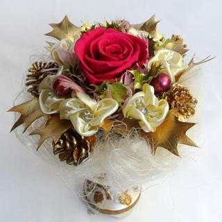 クリスマスギフト プレゼント プリザーブドフラワーギフト バラ