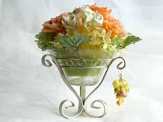 お祝いに贈る お取り寄せフラワー プリザーブドフラワーアレンジ ジューシービジュウ