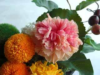 デスクを飾る オフィス装花 プリザーブドフラワー アランチャマム